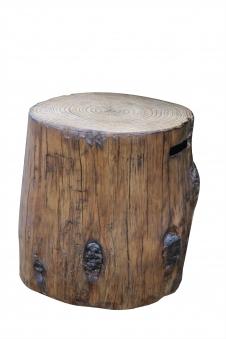 GardenForma Abdeckung für 5kg Gasflasche Eco Stone Baumstamm-Optik Bild 1