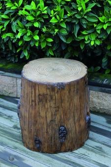GardenForma Abdeckung für 5kg Gasflasche Eco Stone Baumstamm-Optik Bild 2