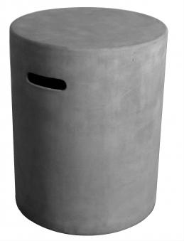 GardenForma Abdeckung für 5kg Gasflasche Faser-Beton Beton-Optik grau Bild 1