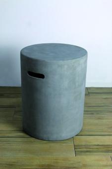 GardenForma Abdeckung für 5kg Gasflasche Faser-Beton Beton-Optik grau Bild 2