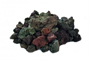 GardenForma Lavasteine rötlich für Gas-Feuerstellen 3kg Bild 1