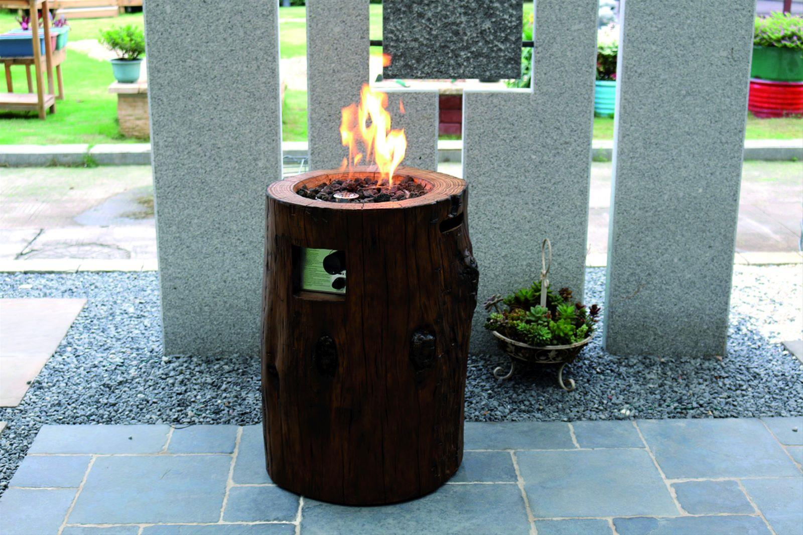 gas feuerstelle gartenfeuer gardenforma semeru eco stone bei. Black Bedroom Furniture Sets. Home Design Ideas