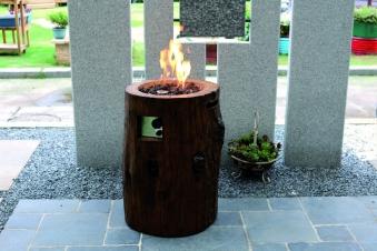 Gas Feuerstelle / Gartenfeuer GardenForma Semeru Eco Stone Bild 4