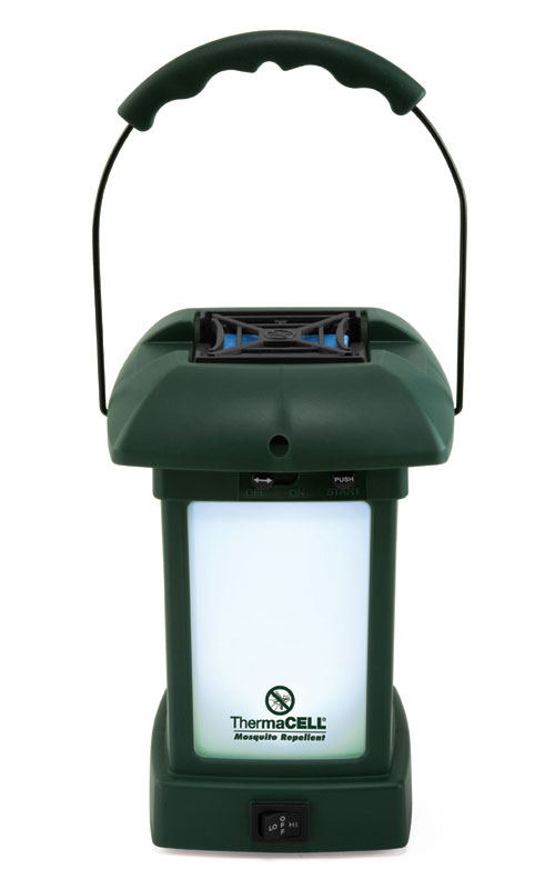 ThermaCell Camping Laterne mit Insektenschutz und Kippschalter Bild 1