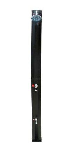 myPool Solardusche Premium Kunststoff schwarz 35 Liter Bild 1
