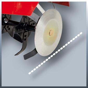 Einhell Benzin-Bodenhacke GC-MT 3060 LD Arbeitsbreite 60cm Bild 2