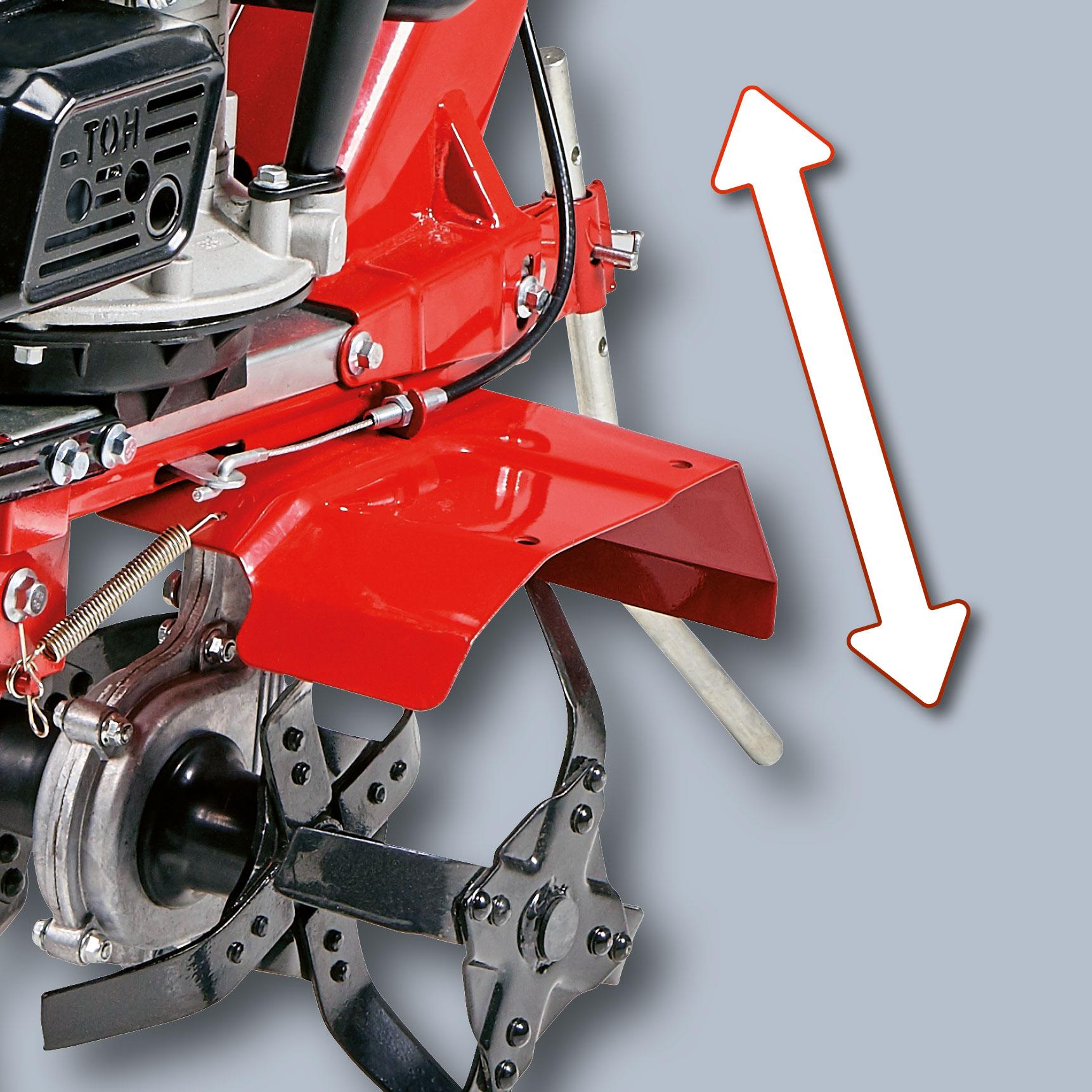 Einhell Benzin Motorhacke GC-MT 1636/1 1,5kW Arbeitsbreite 36cm Bild 3