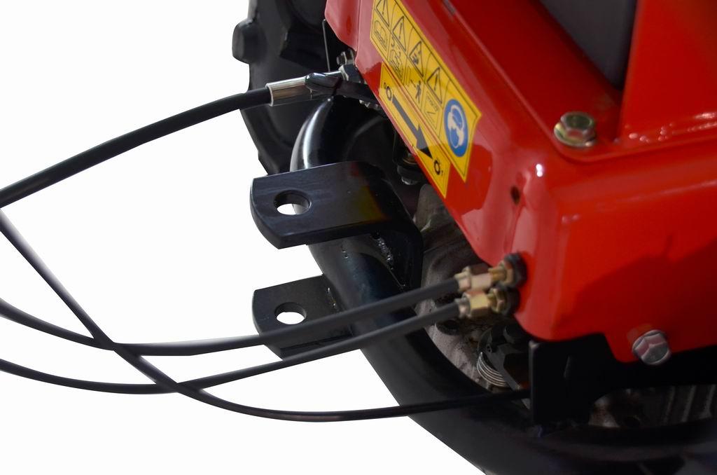 Motoreinachser / Mehrzweckträger Raptor Hydro B&S 950E Motor Bild 8