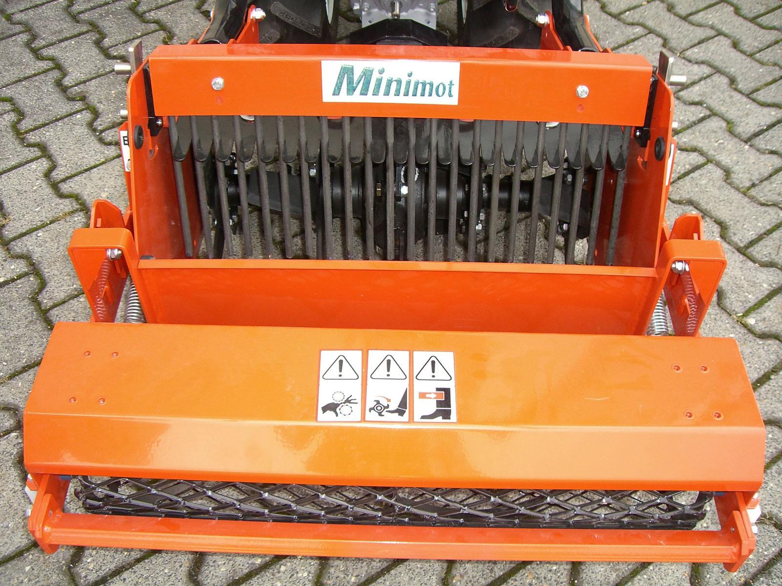 Powerpac Umkehrfräse für Einachser MAK17 Breite 66cm Bild 2