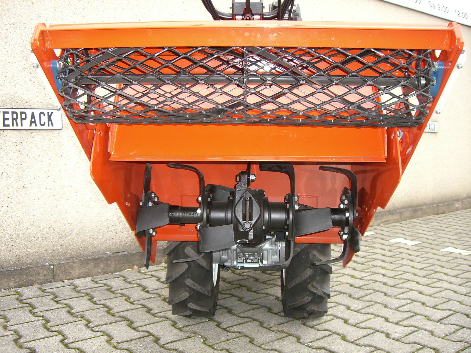 Powerpac Umkehrfräse für Einachser MAK17 Breite 66cm Bild 3