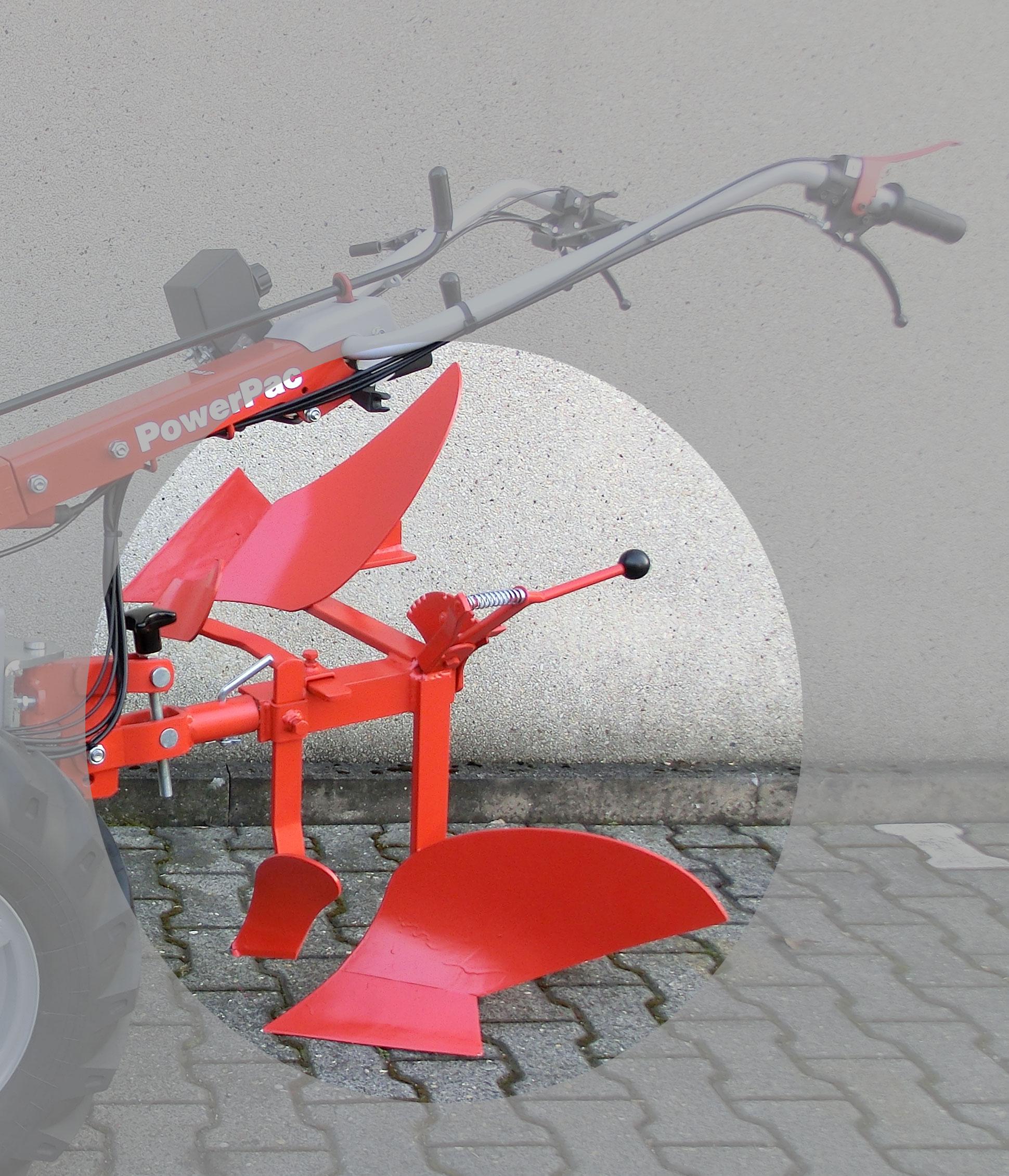 Powerpac Wendepflug Einachser MAK17 Bild 1