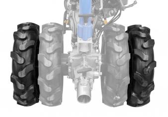 Satz Räder Doppelbereifung GDB 62 für Güde Motoreinachser GME 6,5PS Bild 1