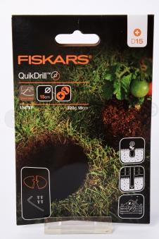 FISKARS Erweiterung Klingen QuikDrill 150mm für Handerdbohrer