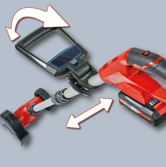 Einhell Akku-Fugenreiniger Fugenbürste GE-CC 18 Li Kit Power X-Change Bild 4
