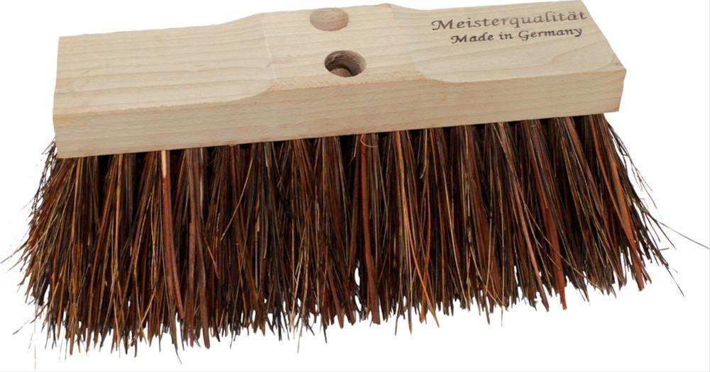 Piassavabesen 40cm kräftigem Holzkörper Bild 1