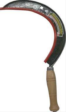 Sichel geschmiedet 450 mm160 / Gr. 0 Elektrostahl Bild 1