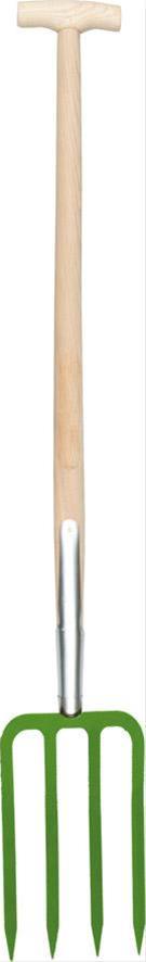 Spatengabel Bajonett Esche-T-Stiel CircumPro Bild 1
