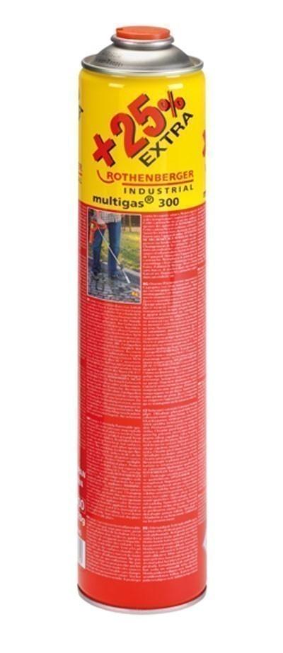 Rothenberger Gas-Kartusche / Schraubkartusche Multigas Jumbo 750 ml Bild 1