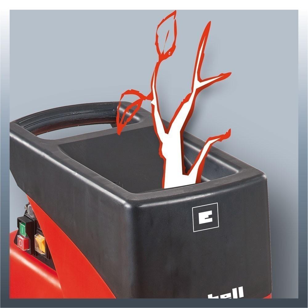 Einhell Elektro-Leisehäcksler / Gartenhäcksler GC-RS 2540 2000Watt Bild 3