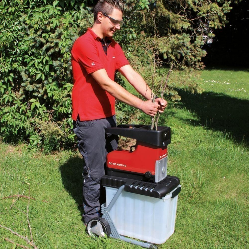 Einhell Elektro-Leisehäcksler / Gartenhäcksler GC-RS 2845 CB 2300Watt Bild 2