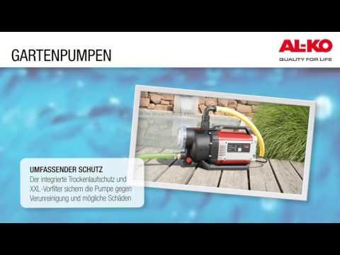 AL-KO Gartenpumpe JET 4000 Comfort 1,0 kW 4.000 l/h Video Screenshot 1148