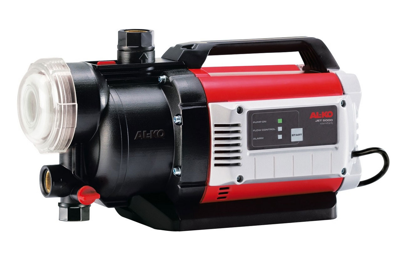 AL-KO Gartenpumpe JET 5000 Comfort 1,3 kW 4.500 l/h Bild 1