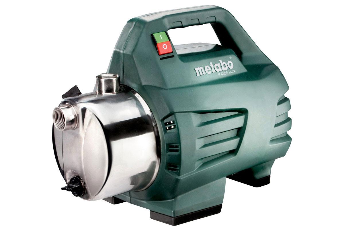 Metabo Gartenpumpe P 4500 Inox 1300 Watt / 4500 l/h Bild 1