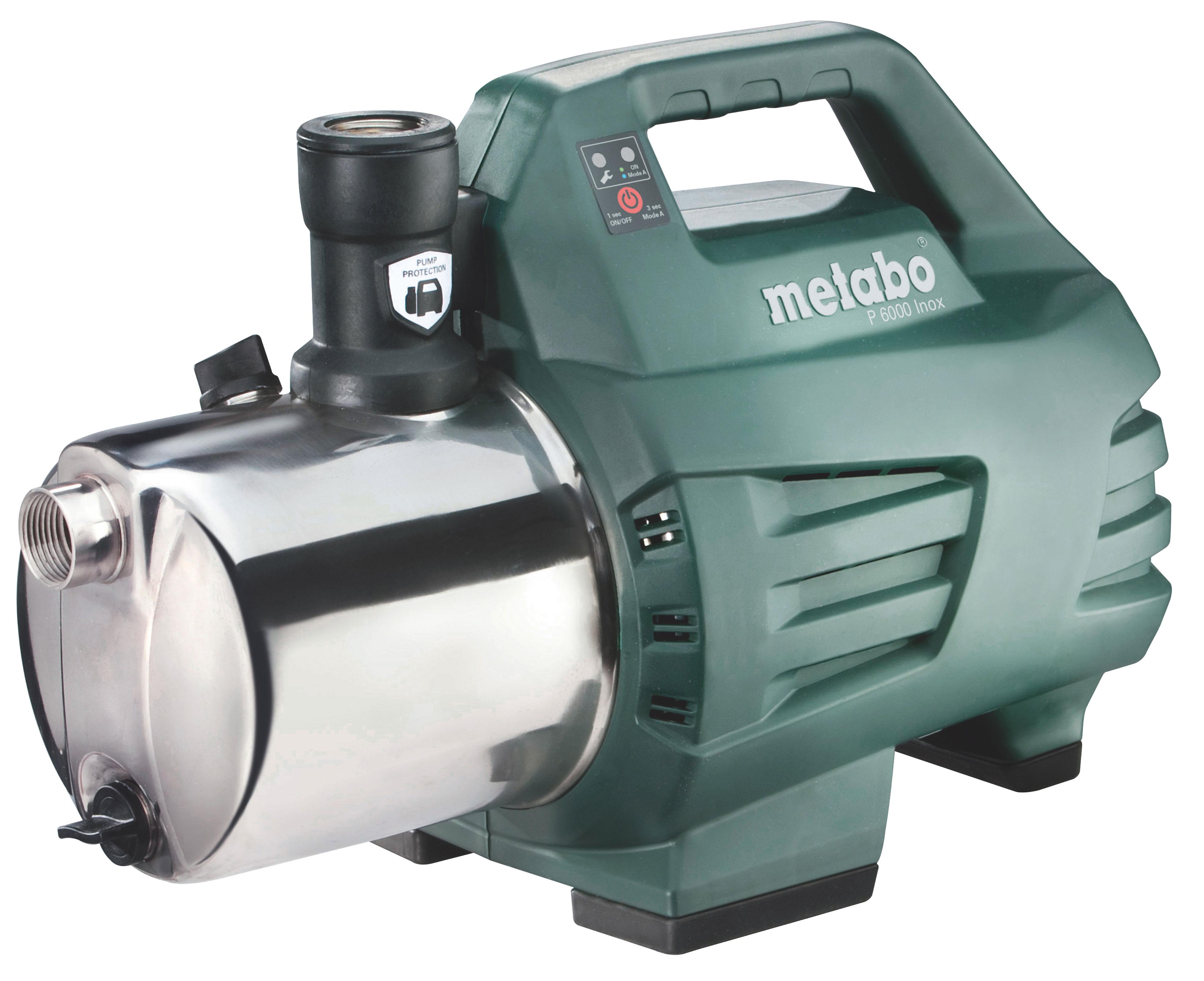 Metabo Gartenpumpe P 6000 Inox 1300 Watt Bild 1