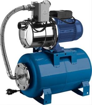 Edelstahl-Hauswasserwerk GP-JEXM 120-24 1390 Watt Bild 1