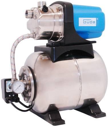 Güde Hauswasserwerk HWW 1000 P Inox 1000W Bild 1