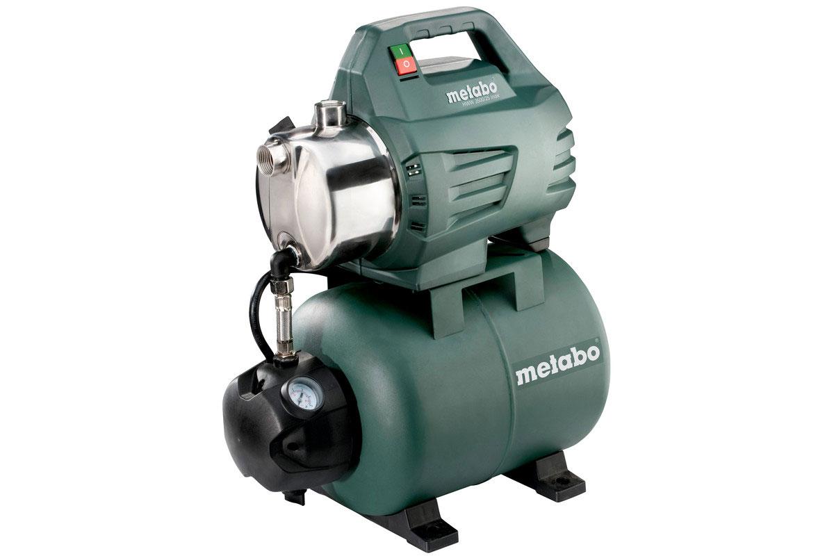 Metabo Hauswasserwerk HWW 3500/25 Inox 900 Watt / 3500 l/h Bild 1