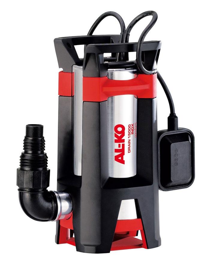 AL-KO Schmutzwasser Tauchpumpe DRAIN 15000 Inox Comfort 1,1 kW Bild 1