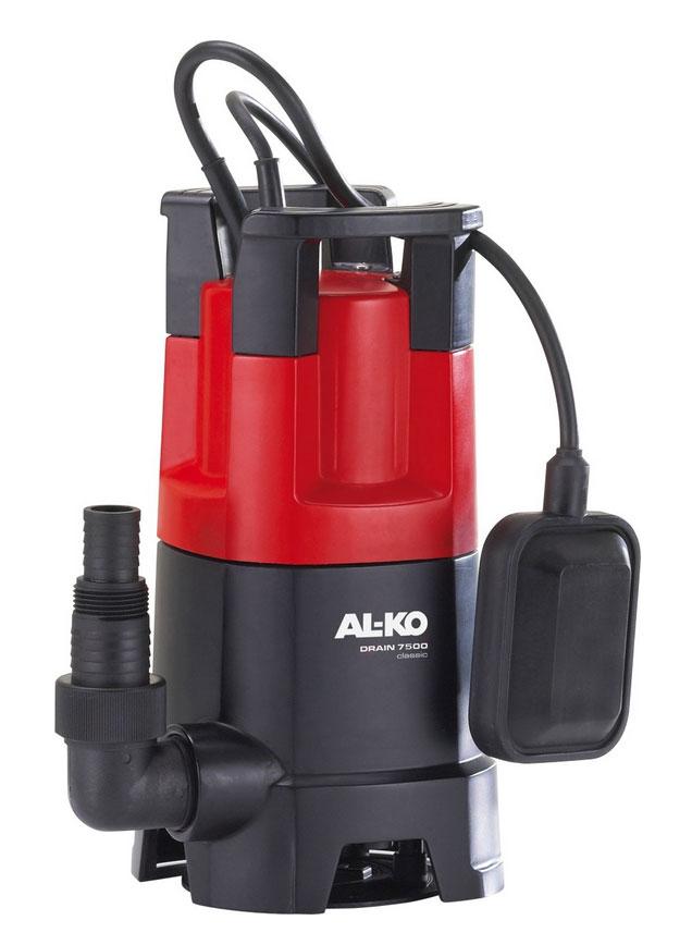 AL-KO Schmutzwasser Tauchpumpe DRAIN 7500 Classic 450W 7500 l/h Bild 1
