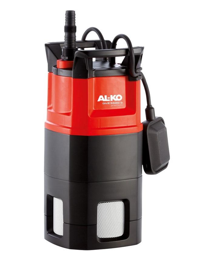 AL-KO Tauch-Druckpumpe DIVE 5500/3 E 800W 5500 l/h Bild 1