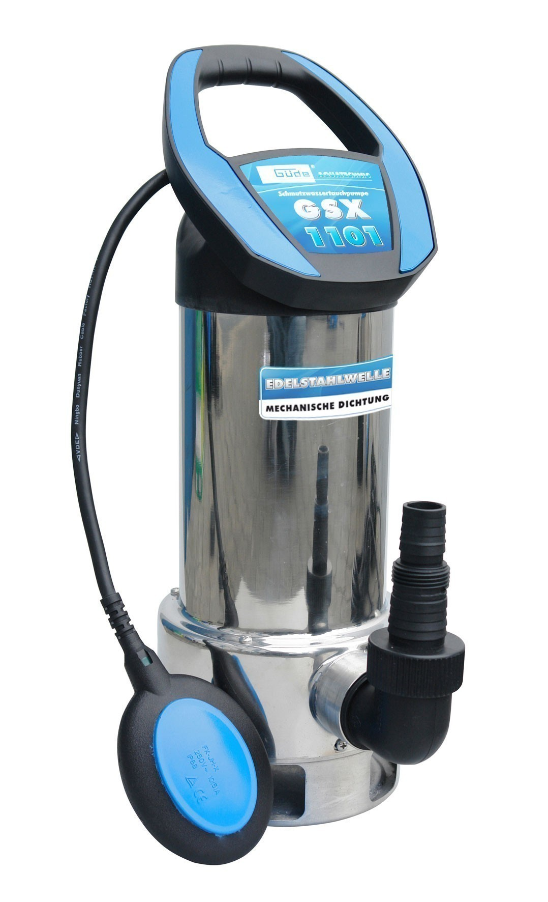 Güde Schmutzwasser Tauchpumpe GSX 1101 1100W Bild 1