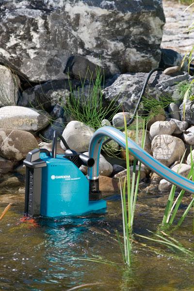 GARDENA Comfort Schmutzwasserpumpe 13000 aquasensor 01799-20 Bild 2