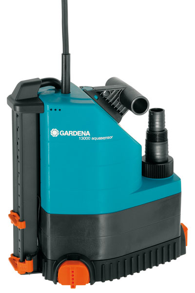 GARDENA Comfort Tauchpumpe 13000 aquasensor 01785-20 Bild 1