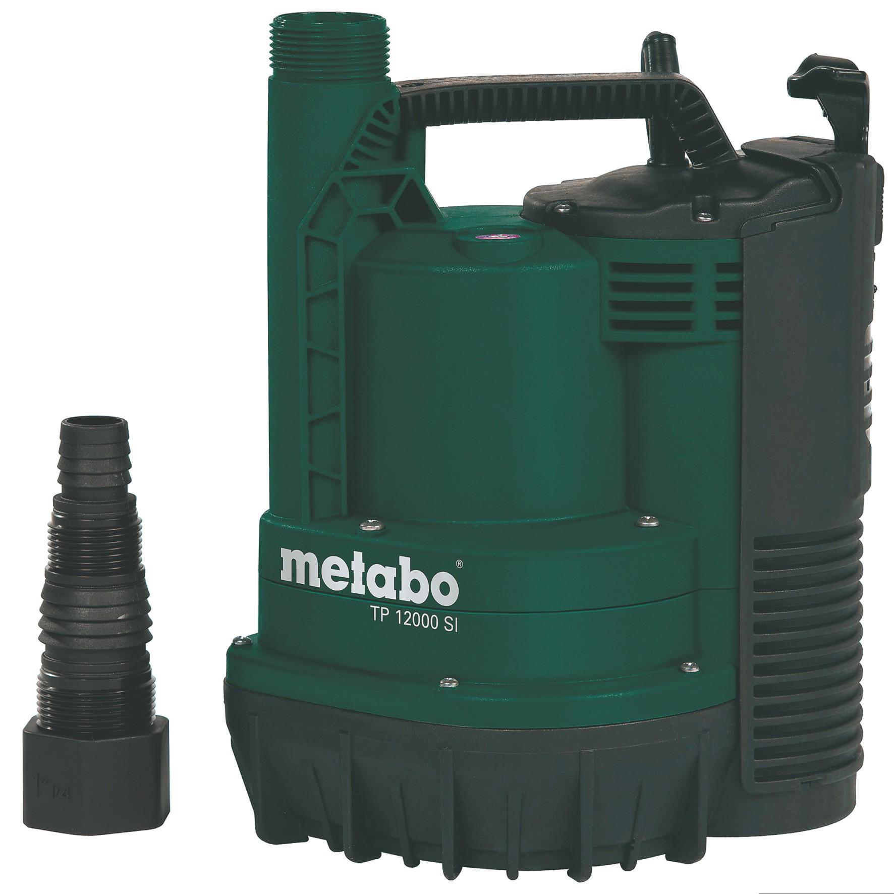 Metabo Klarwasser Tauchpumpe TP 12000 SI flachsaugend 600 Watt Bild 1