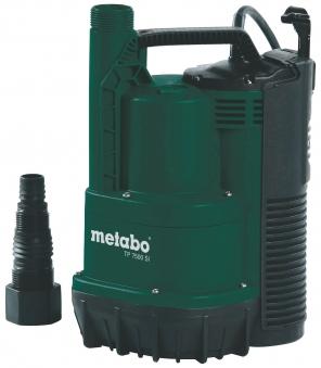 Metabo Klarwasser Tauchpumpe TP 7500 SI flachsaugend 300 Watt Bild 1