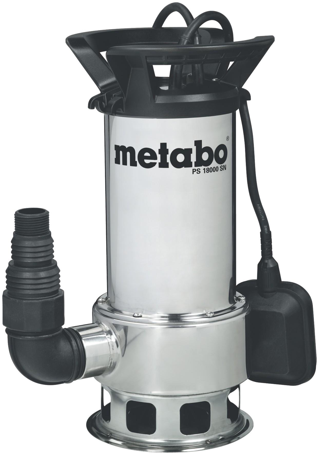 Metabo Schmutzwasser Tauchpumpe PS 18000 SN 1100Watt Bild 1