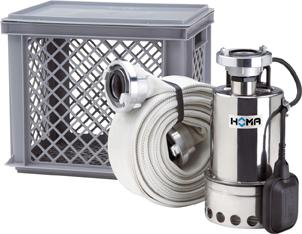 Pumpe für Notfalleinsatz Typ Flut-Set HOMA Bild 1