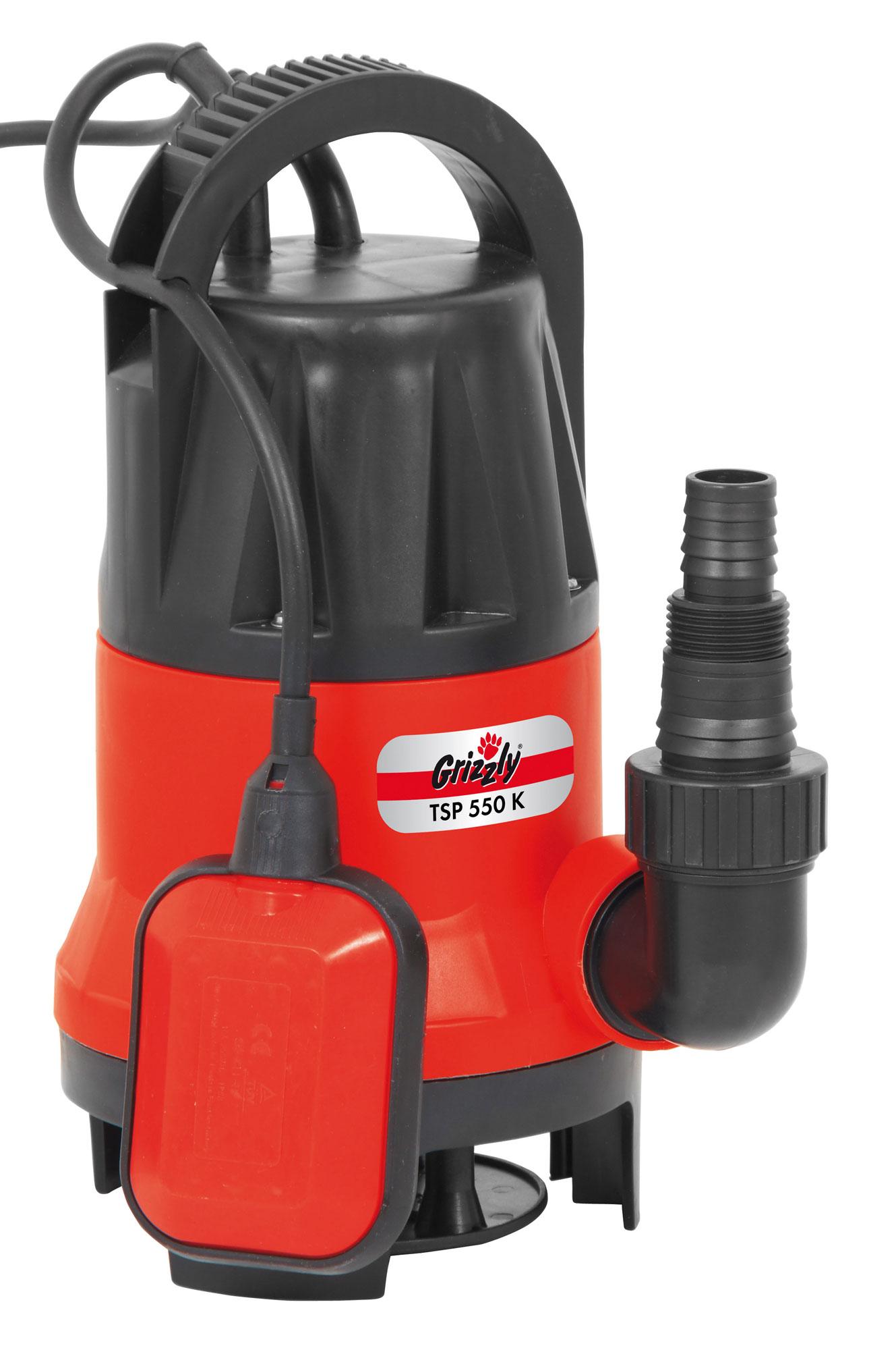 Schmutzwasser Tauchpumpe Grizzly TSP 550 K 550 Watt Bild 1