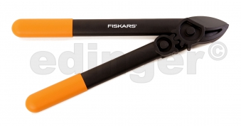 FISKARS Astschere mit Getriebe L31 PowerGear Amboss 40cm Bild 1