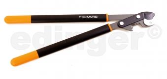 FISKARS Astschere mit Getriebe L93 PowerGear Amboss Bild 1