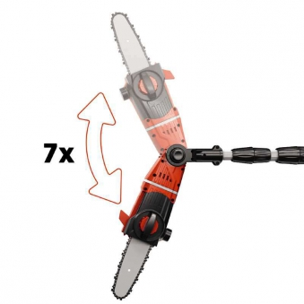 Einhell Akku-Hochentaster GE-LC 18 LI T Kit / Astkettensäge SB 17cm Bild 3