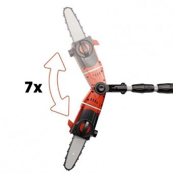 Einhell Akku-Hochentaster GE-LC 18 LI T- Solo / Astkettensäge SB 17cm Bild 2