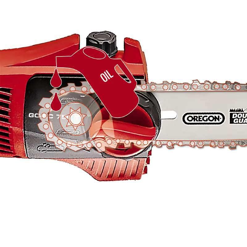 Einhell Elektro-Hochentaster GC-EC 750 T / Astkettensäge SB 18cm Bild 3