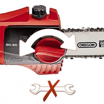 Einhell Elektro-Hochentaster GC-EC 750 T / Astkettensäge SB 18cm Bild 2