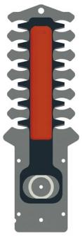 Ersatzmesser Akku 50 EMB / Ersatzteile Strauchschere 110cm Wolf Garten Bild 1