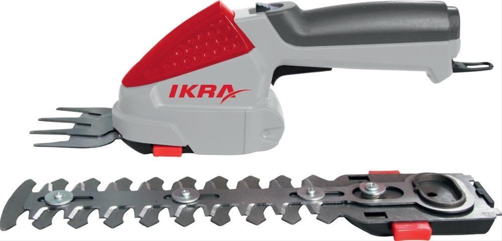 Ikra Akku Gras- und Strauchschere IGBS 1054 7.2V Bild 1